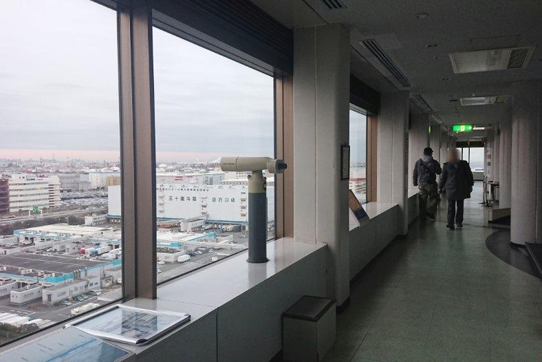 川崎マリエン 展望台
