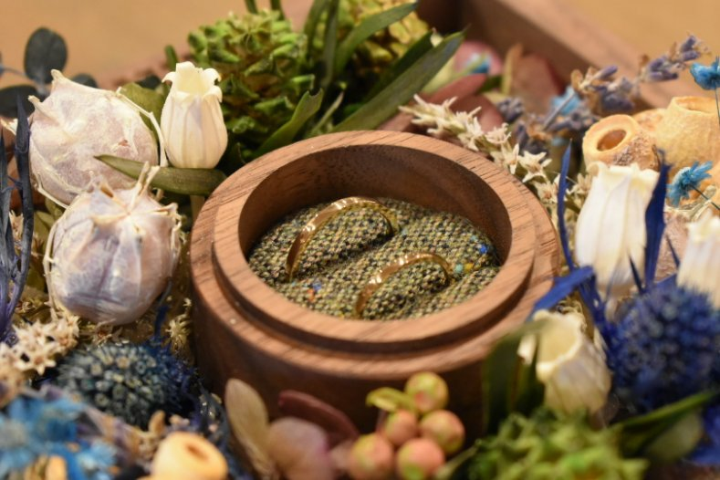 鎌倉彫金工房 結婚指輪